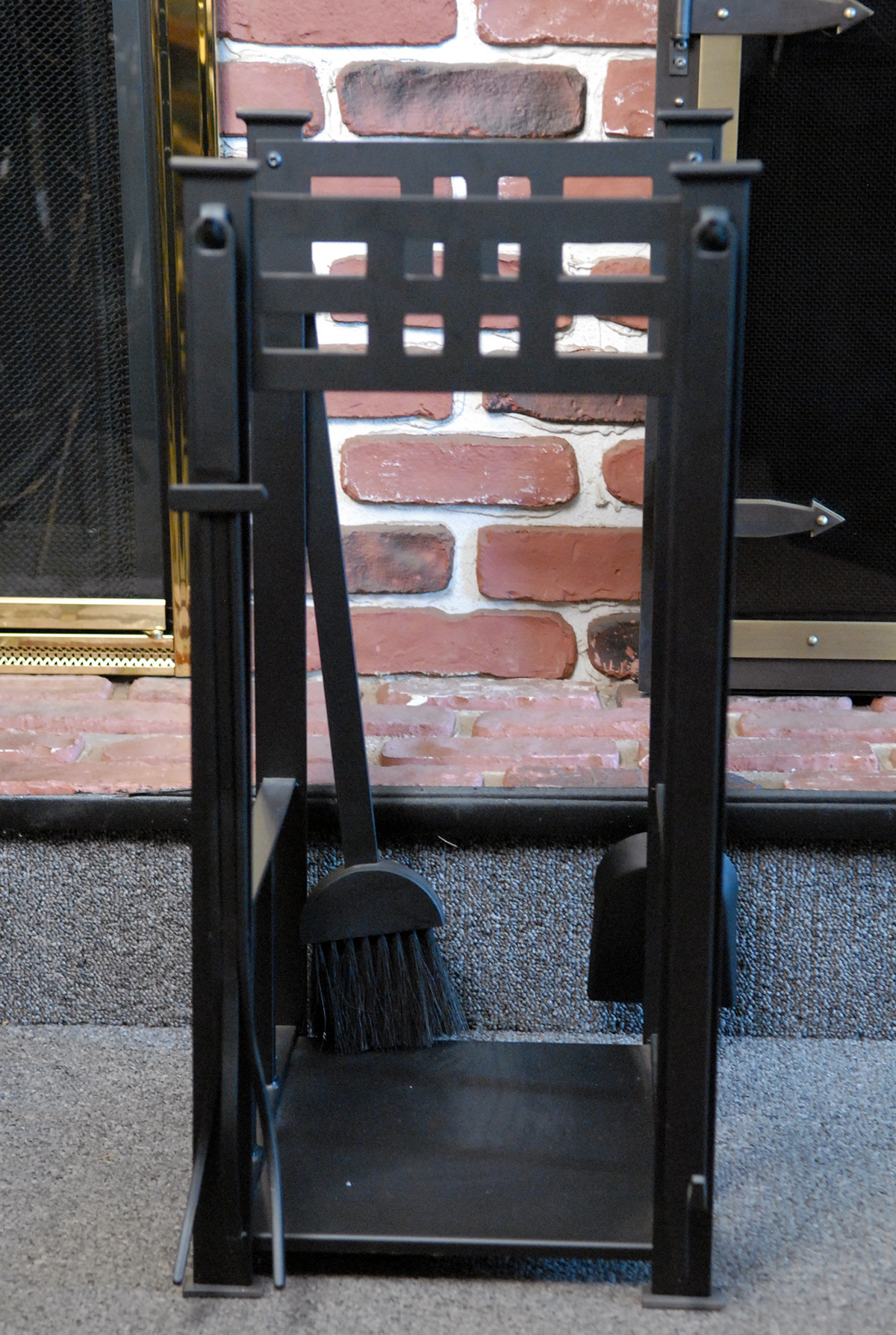 fireplace toolsets grates and grills